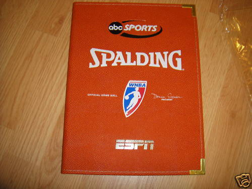 Spalding Official WNBA Game Ball pad