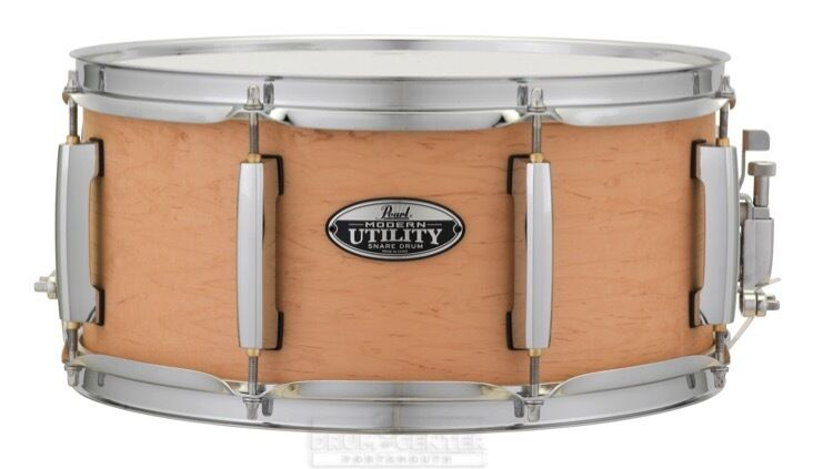 Pearl Modern Utility Maple Snare Drum 14x6.5 Matte Natural - MUS1465M224