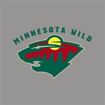 Minnesota Wild 7 Nhl Team Logo Vinyl Decal Sticker Car Window Wall Cornhole Home Decor Children S Bedroom Sports Decor Decals Stickers Vinyl Art
