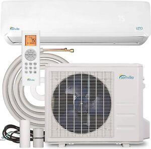 Senville 9000 BTU Mini Split Air Conditioner Ductless Heat Pump