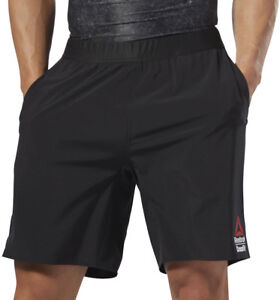 977d2a469012 Details about Reebok Crossfit Speed Mens Training Shorts - Black