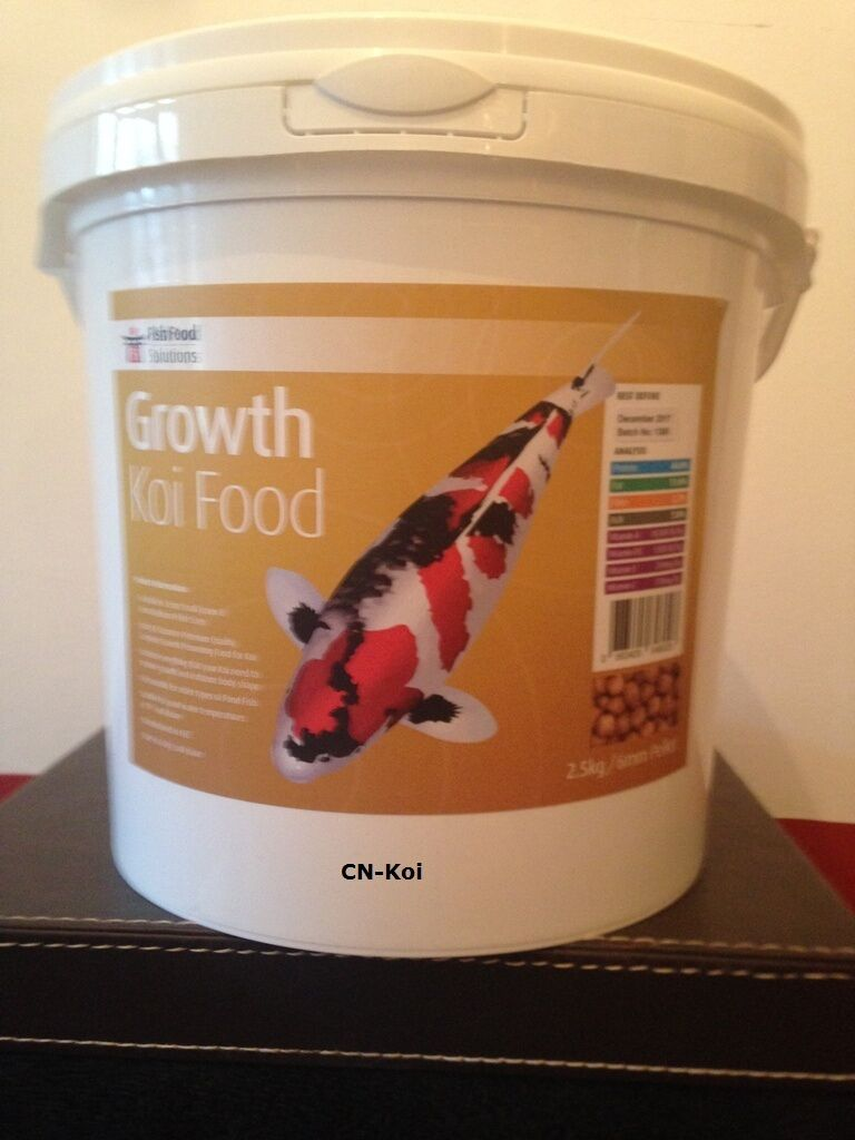 Fish Food Solutions Growth Koi Food - various sizes & pellet available