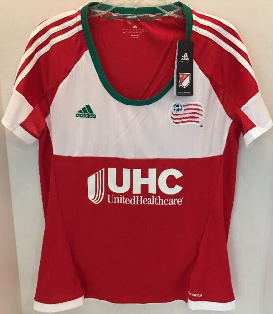 f2b1b4e5201 MLS New England Revolution Womens Replica Short Sleeve Team Jersey SZ Large  NWT