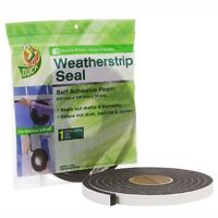 Duck Brand 1278750 Self Adhesive Foam Weatherstrip Seal For Extra Large Gaps, 3/ on sale