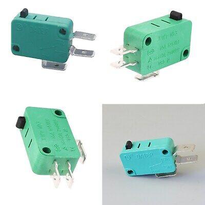 10 X microswitch senza leva finecorsa microinterruttore pulsante 5 A 125//250 V