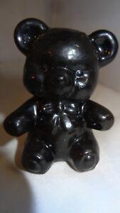 Boyd-Art-Glass-Black-Fuzzy-the-Bear-Figurine