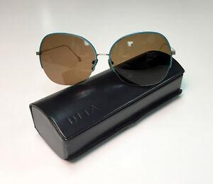 81b9b81fae23 Image is loading DITA-Heron-Half-Rime-Aviator-Polarized-Sunglasses-Retail-