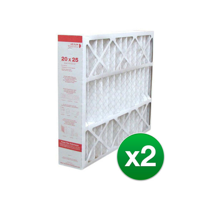 2 Pack 20x25x4 MERV 8 White-Rodgers FR2000M-108 Aftermarket Filters