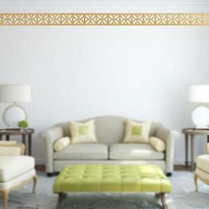 Image Is Loading Hot Mirror Wall Stickers Ceiling Border Mural