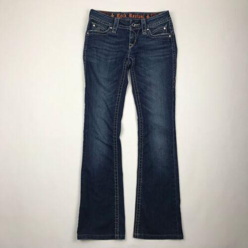 Rock Jeans Taille Boot Revival 25 Sasha Cut WashWAltered Medium Femmes N80mOvywn