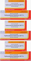 Activis Hydrocortisone Ointment 1% Max Otc Strength Anti-itch 1oz ( 3 Pack )