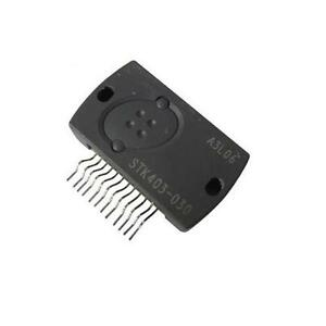 Details about STK403-030E = STK403-030 AUDIO INTEGRATED CIRCUIT 12-PIN  2-CHANNEL AF POWER AMP