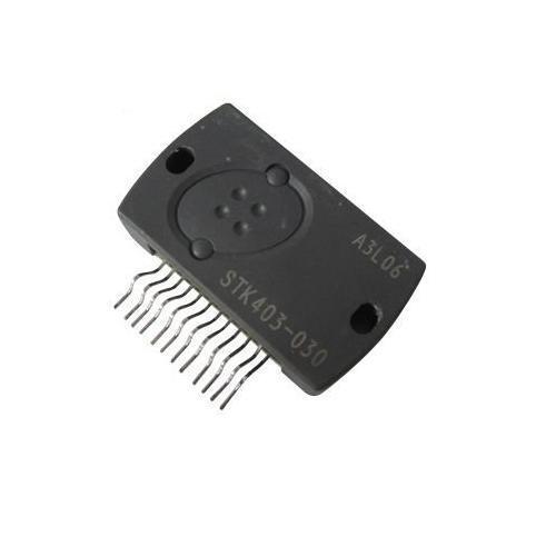 STK403-030E = STK403-030 Audio Circuit intégré 12-PIN 2-channel AF Power Amp