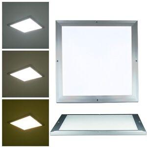 LED-Licht-Panel-034-CTP-30-034-140-LEDs-296x296mm-Deckenleuchte-Aufbauleuchte-SLIM