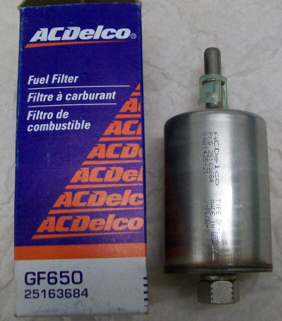 gm 25163684 genuine oe fuel filter cadillac eldorado de ville nos