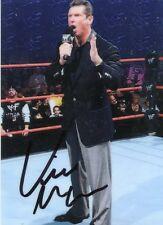 1999 COMIC IMAGES SMACKDOWN WWF VINCE McMAHON AUTOGRAPH