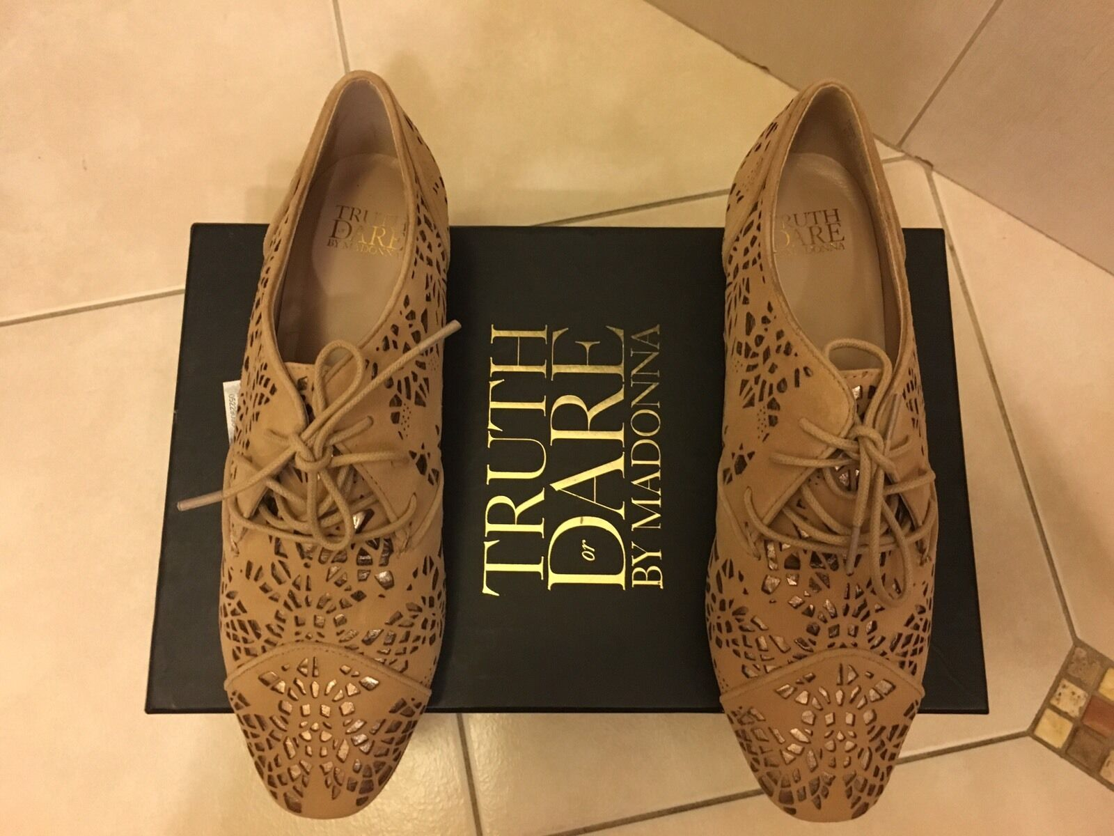 Truth Or Dare By MaDamens Suede Lace Up Oxfords