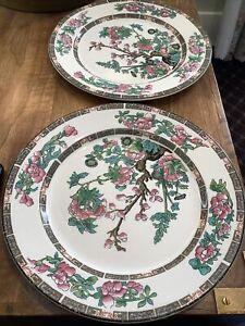 Antique Maddock Indian Tree  Salad plates 3 available RareIndian Tree antique Circa 1960s Asian decor China Galore Use quantity 1, 2, 3
