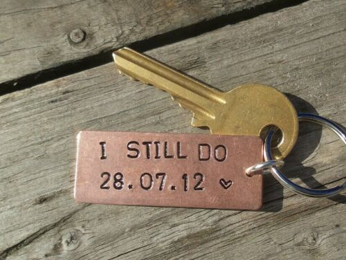 I STILL DO 7th Anniversary Copper Gift Husband Wife PERSONALISED 7 Year Wedding
