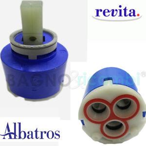 Dettagli su Ricambio Cartuccia miscelatore vasca box doccia Albatros Revita 4R22256999