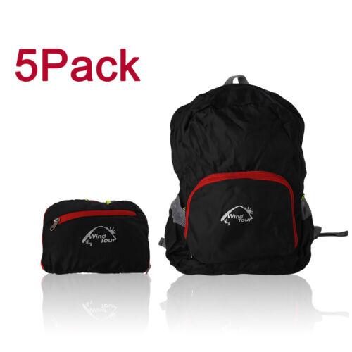 LOT 1-50 Women Men Shoulder Backpack Rucksack Outdoor Camping Hiking Travel Bags