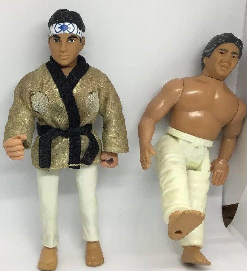 1986 remco karate kid daniel larusso Gold und weiß - rot karte und sato