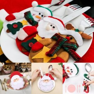 Useful-Snowman-Decorative-Home-Gift-Bags-Christmas-Pretty-Decorations-Table-Sets