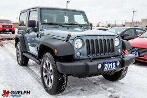 2015 Jeep Wrangler Sport-READY FOR WINTER