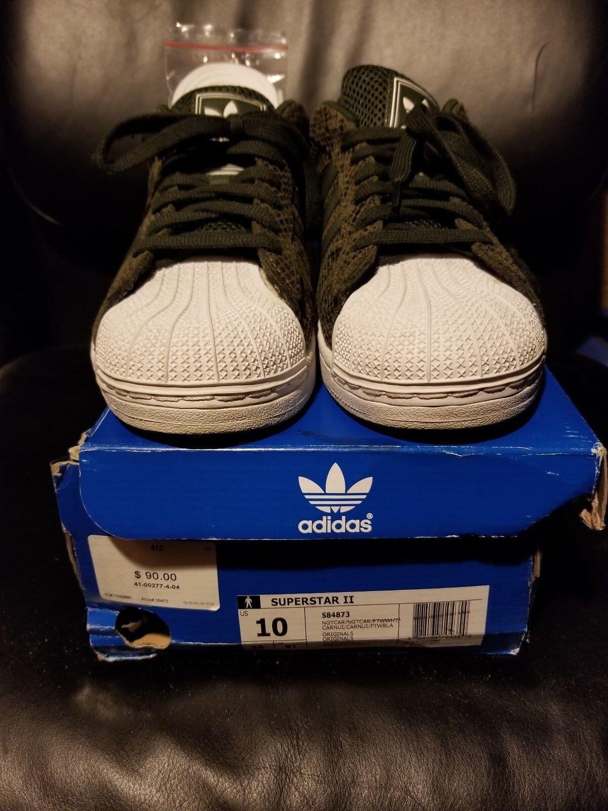 Adidas superstar ii numero navigazione 10 la libera navigazione numero pre-owned d886e8