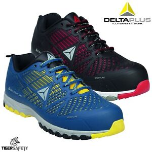 6f4e54cf2f4 Details about Delta Plus Delta Sport Lightweight Metal Free Composite Toe  Cap Safety Trainers