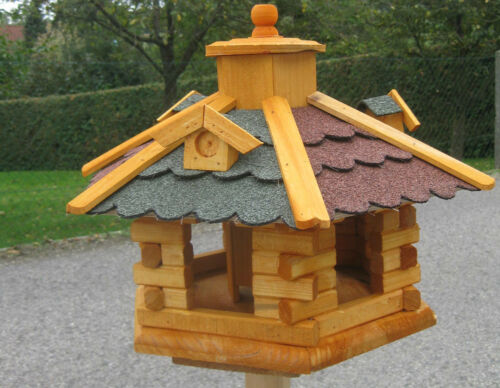Varianten Vogelhaus Vogelvilla XXL Vogel Futterhaus Vogelfutterhaus verschied