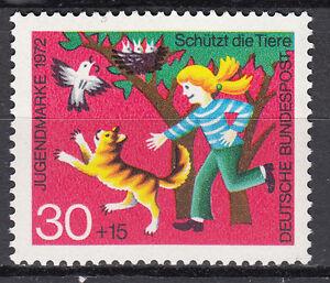 Avoir Un Esprit De Recherche Rfa 1972 Mi Nº 713 Cachet Luxe!!!-afficher Le Titre D'origine 100% D'Origine