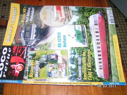 Loco Revista nº706 ABJ4 ÁRBOL Mistral 69 BB 427013