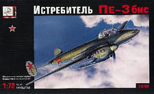 Chasseur lourd Soviétique PETLYAKOV Pe-3, WW2 - Kit Voka-Gran Ltd 1/72 n° 7249