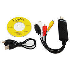 USB Video DVR Capture Card VHS VCR TV to DVD Converter Adapter Audio NEW