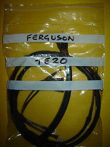 s l300 ferguson grey gray fergie t20 diesel tractor wiring harness loom  at edmiracle.co