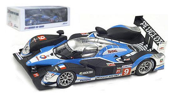 Spark 43LM09 Peugeot 908 HDi FAP Le Mans Winner 2009 - 1 43 Scale