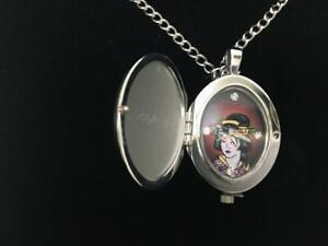 NEW ED HARDY watch queen japanese geisha QU-GA nib necklace