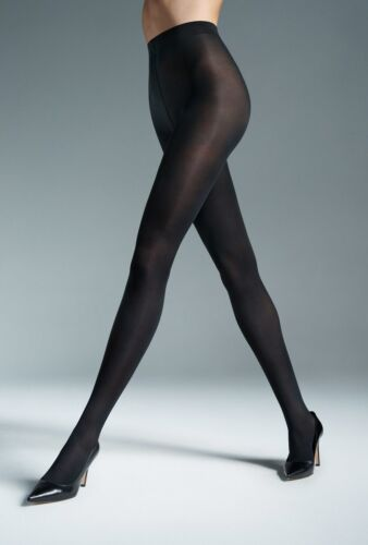 40 Denier Women/'s Microfibra mat stockings Tights By Marta silky with a gusset