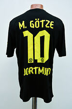 BORUSSIA DORTMUND GERMANY 2012/2013 AWAY FOOTBALL SHIRT JERSEY PUMA GOTZE #10