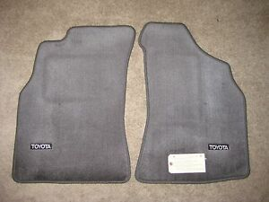 Toyota Pickup And 4runner Gray Front Floor Mats Oem