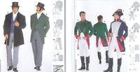 Burda Men's Historical Costume Sewing Pattern Mens Renaissance Sca Larp You Pick