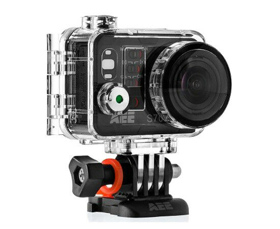AEE  S70 Premium Edition Waterproof Video Camera with 10x Digital Zoom (Black) Featured