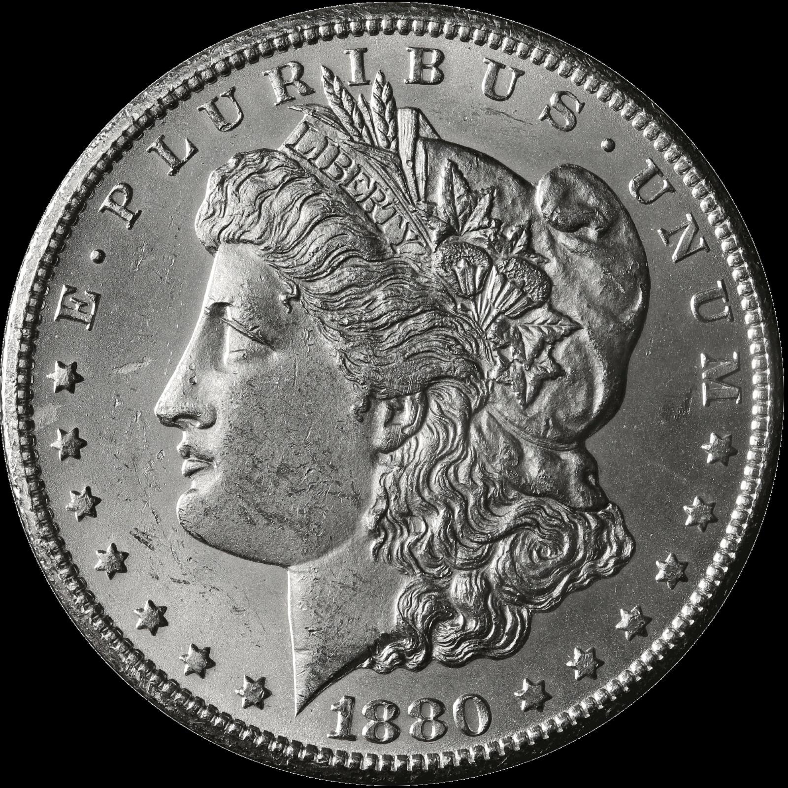 1880 Cc Morgan Silver Dollar Bu Ebay