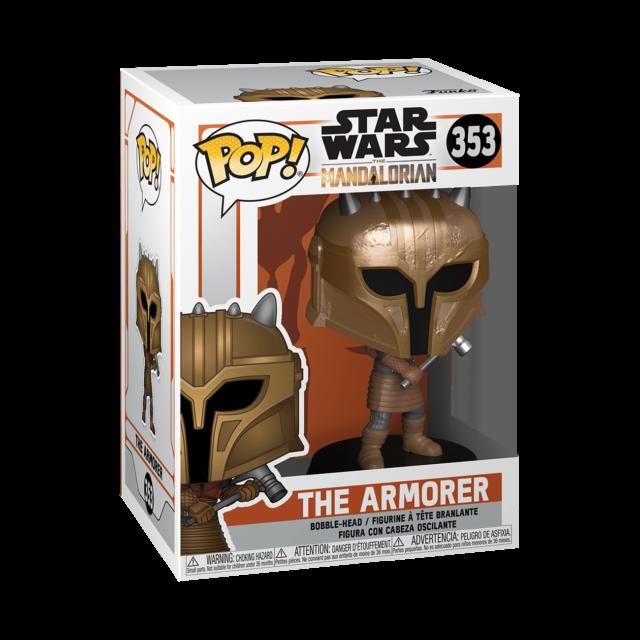 Mandalorian The Armorer Funko POP POP Star Wars Vinyl Figure Bobble Head ...