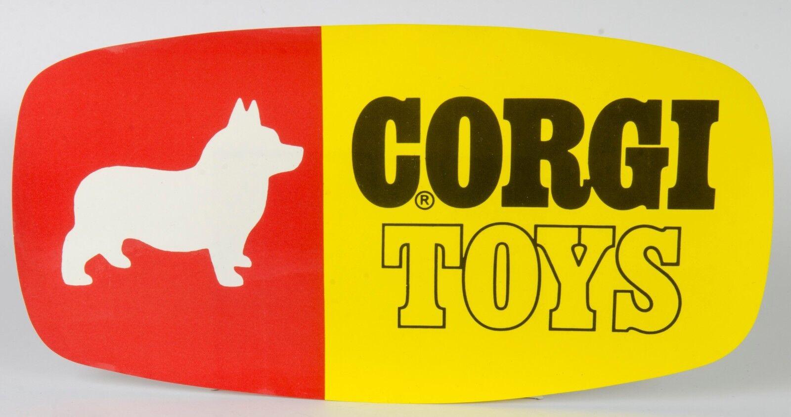 Corgi Toys Tienda PanDimensione Firme. Original Década de 1960 USA sin usar stock de tienda. Menta Raro