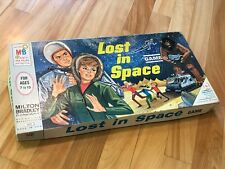 Vintage LOST IN SPACE board game Milton Bradley 1965 Very Good Condition