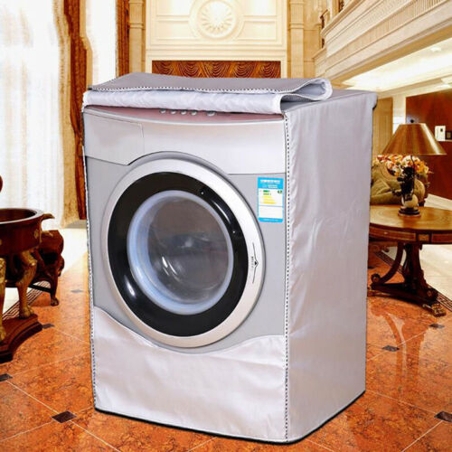 1xWashing Machine Cover Waterproof Washer Cover For Front Load Washer// Dryer Kit