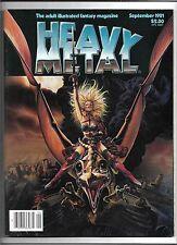 Heavy Metal Magazine Vol 5 #6 September 1981 Corben Chaykin Bilal Cronenberg VF