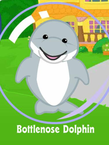 unused code only Longtime Trusted Seller Webkinz Bottlenose Dolphin